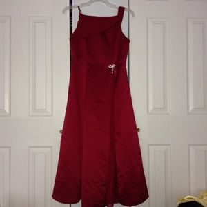 Girls formal red dress